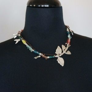 New Uno de 50 ENCOLADO Short Colorfl Fish Necklace